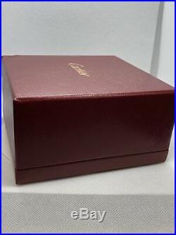 Cartier Cross Love Bracelet Size 17 18k Rose Gold and White Gold pave Diamonds
