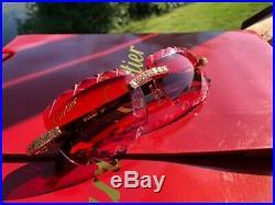 Cartier Custom Berry Black Marble C Decor Buffalo Sunglasses