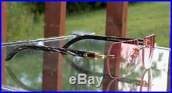 Cartier Custom Marble Red Pool Lens Buffalo C Decor Buffalo Sunglasses