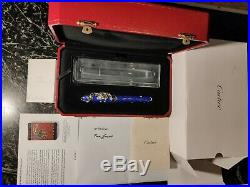 Cartier Dragon Prestige F. Pen Exceptional Panthere Relic, New, Limited 888 Art