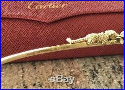 Cartier Gold Panther Glasses