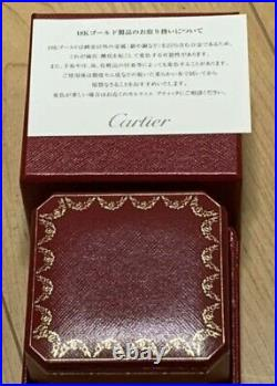 Cartier Love 18k White Gold Band Ring Size 49/US 5