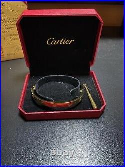 Cartier Love Bracelet Gold size 20 men