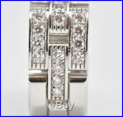 Cartier Maillon Panthere 18k Gold Diamond Ring