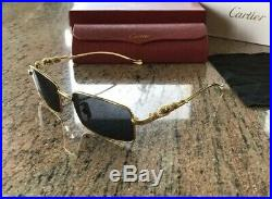 Cartier Panther Gold Sunglasses
