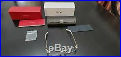 Cartier Panthere Eyeglasses Rimless 18k New Model CT 012000 002