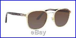 Cartier Platinum Gold Sunglasses Signature CT0012S 002 France 54mm Authentic New
