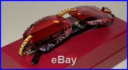 Cartier Smooth Berry Acrylic LIMITED 2019 Horn Buffalo C Décor Sunglasses