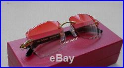 Cartier Smooth Cherry LIMITED 2019 Horn Buffalo C Décor Sunglasses