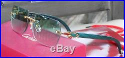 Cartier Smooth Greenwood Hunter Pool SP Buffalo C Décor Sunglasses