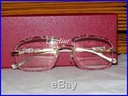 Cartier Smooth Panther Series 2019 Buffalo C Décor Sunglasses