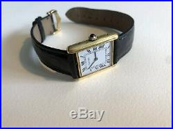 Cartier Tank Yellow Gold Plated