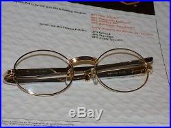 Cartier Titanium Clear Buffs Buffalo Unique Glossy Style C Décor Sunglasses
