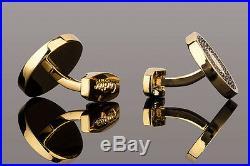 Cartier cufflinks in Gold Mens jewelry Designer accessories