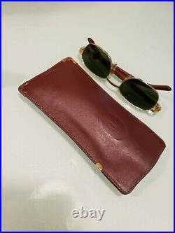 Cartier green 2000 Cartier sunglasses