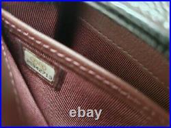 Chanel Long Gusset Flap Gold Metal Caviar Wallet Black