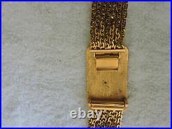 Chanel Vintage Gold-tone Logo Buckle Belt