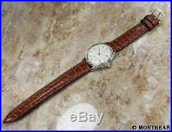 Chaumet Paris Rare Mens 35mm Made in France c2000 18k Stainless St Watch N117