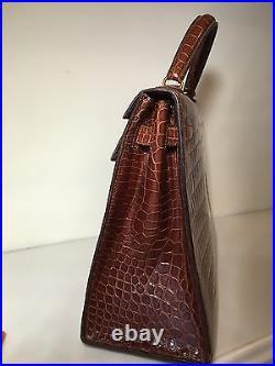Crocodile Hermes Kelly Bag