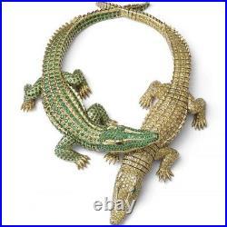 Crocodiles de Cartier Exceptional Fountain Pen Menagerie