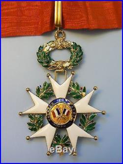 FRANCE, WWI REPUBLIC ORDER LEGION OF HONOR GOLD. GRAND COMMANDER, very rare