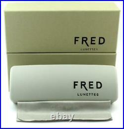 FRED LUNETTES FORCE 10 EVO 001 Bicolore Platine & Gold Rimless Frames Eyeglasses