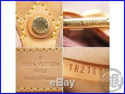 Final! AUTH PRE-OWNED LOUIS VUITTON MONOGRAM DENIM PINK SUNRAY BAG M40417 171036