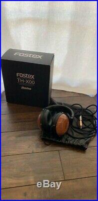 Fostex TH-X00 Massdrop Mahogany Audiophile Closed back Headphones