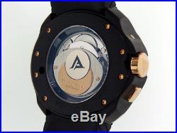 Franc Vila Universal Timezone Quantieme GMT FVa5 PVD 18k Rose Gold $28,700 NIB