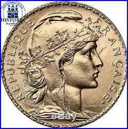 Frankreich 20 Francs Gold Jahr unserer Wahl Goldmünze Marianne in Münzkapsel