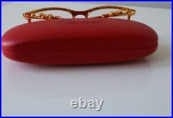 Gold Frame Cartier Glasses / Eyeglasses / Sunglasses
