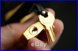 HERMES Birkin BLACK 30cm EPSOM gold 30 togo bag purse 2016 handbag