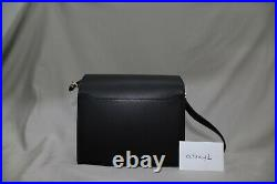 HERMES ROULIS MINI 18 Black Leather with Gold Hardware CONSTANCE BIRKIN KELLY