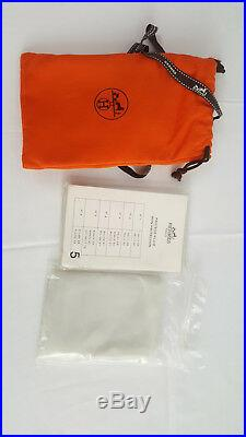 HERMES Togo Gold Leather Birkin Bag 35