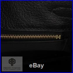 Hermes 25cm Birkin Black Togo Leather Gold Hardware Ghw 2018