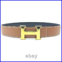 Hermes Belt Constance Rev Gold-tone 1513384