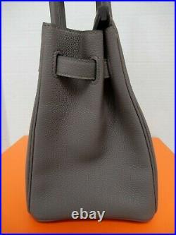 Hermes Birkin 30cm Etain Veau Togo Leather GHW Bag