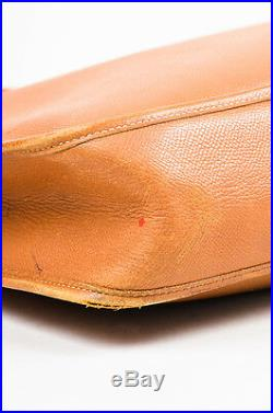 Hermes'Gold' Brown Courchevel Leather Evelyne I GM Shoulder Bag