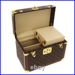 LOUIS VUITTON BOITE PHARMACIE COSMETIC BOX 1060593 MONOGRAM M21826 AUTH JT08661b