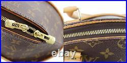 LOUIS VUITTON Ellipse PM Hand Bag Brown Monogram M51127 France Authentic #AB753