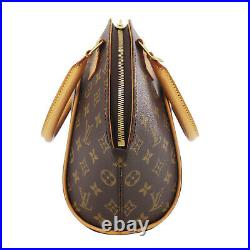 LOUIS VUITTON Ellipse PM Hand Bag Brown Monogram M51127 France Authentic #AC718