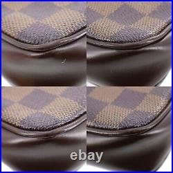LOUIS VUITTON Navona Hand Pouch Bag Damier N51983 France Authentic #TT849 S