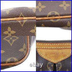 LOUIS VUITTON Palermo PM Shoulder Hand Bag Monogram M40145 France Auth #II52 S