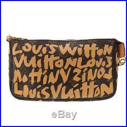 LOUIS VUITTON Pochette Accessoires Monogram Graffiti M92193 Authentic #LL940 O