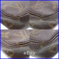 LOUIS VUITTON Pochette Accessories Monogram Pouch Bag M51980 Authentic #NN423 S