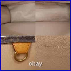 LOUIS VUITTON Sac Plat Tote Hand Bag Monogram Canvas M51140 Vintage Auth #AC4 S