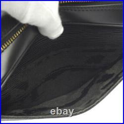 LOUIS VUITTON TROCADERO 24 CROSS BODY BAG EPI BLACK M52302 MI1924 AK38505k