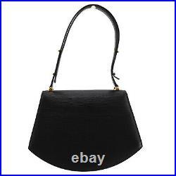 LOUIS VUITTON Tilsit Black Epi Hand Shoulder Bag M52482 France Authentic #AC69 Y