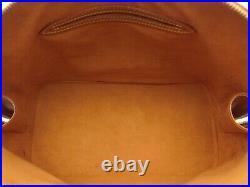 Louis Vuitton Authentic Epi Leather Cipango gold ALMA HAND Bag Purse Auth LV