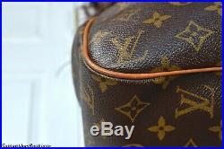 Louis Vuitton Batignolles Horizontal Monogram Shoulder Bag Tote Handbag Purse